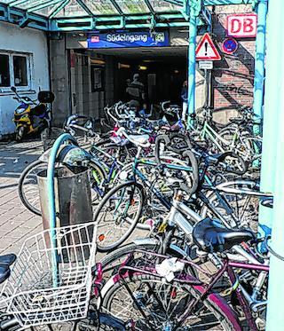 Stadt Will Wildes Fahrrad Parken Unterbinden